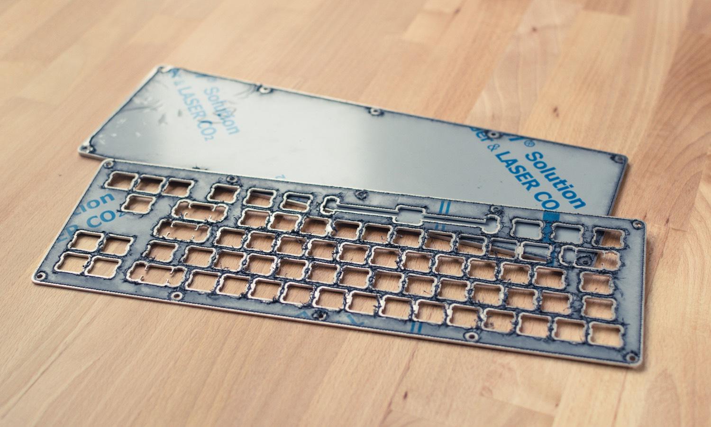 the aluminium case 68keys io